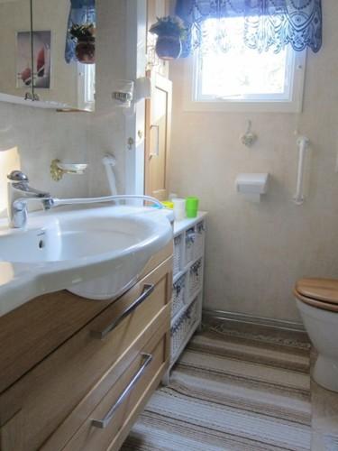 Badezimmer – Ferienhaus Fagelsudd