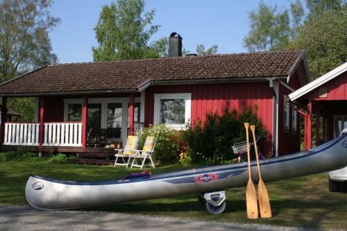 Kanu - Ferienhaus Felixbo