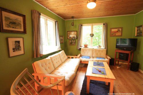 Wohnzimmer – Ferienhaus Frieda