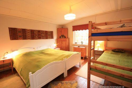 Schlafzimmer – Ferienhaus Helga