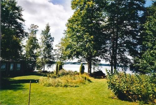 Blick vom Ferienhaus – Ferienhaus Helga