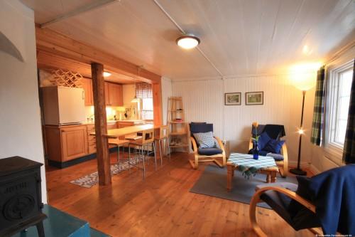 Wohn- /Essbereich mit offer Küche 1 – Ferienhaus Klock