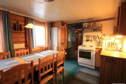 Küche mit Essplatz – Ferienhaus Klock