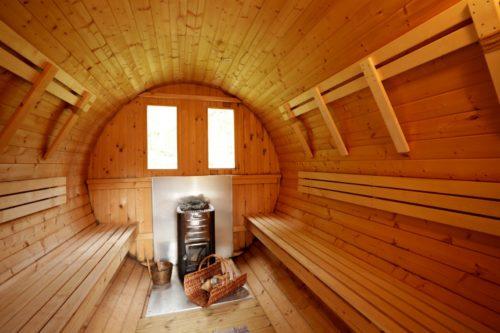 Saunafass – Ferienhaus Klock