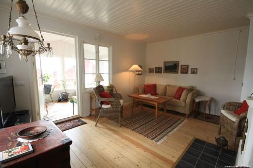 Wohnzimmer – Ferienhaus Lugnabo