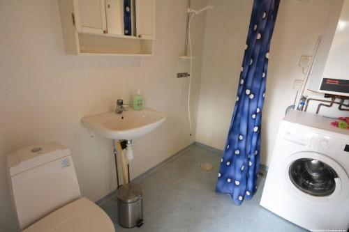 Badezimmer – Ferienhaus Lugnabo