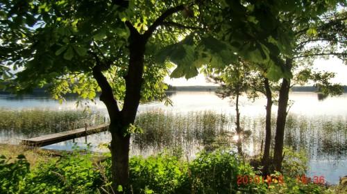 Blick vom Ferienhaus – Ferienhaus Lugnabo