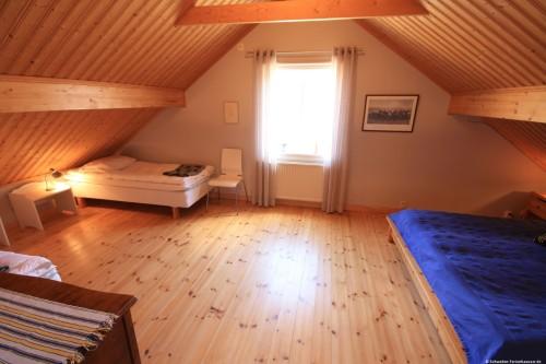 Schlafzimmer 3 – Ferienhaus Lund
