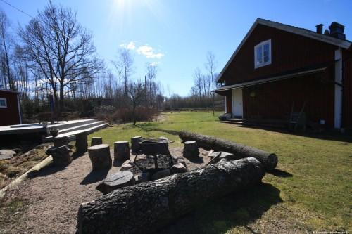 Grillplatz und Feuerstelle – Ferienhaus Lund