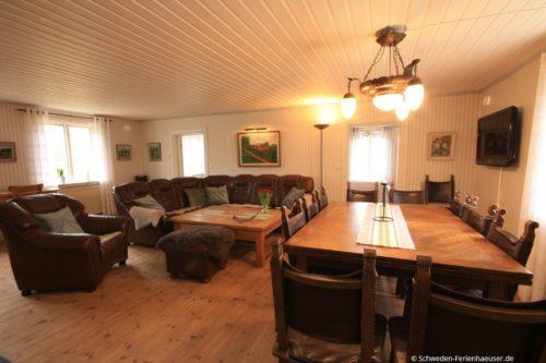 Wohn- /Essbereich 1 – Ferienhaus Lund