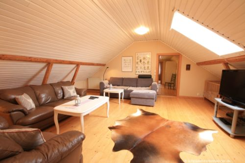Wohnbereich 2 – Ferienhaus Lund
