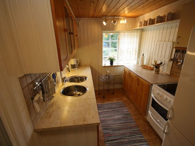 Küche – Ferienhaus Lyckan