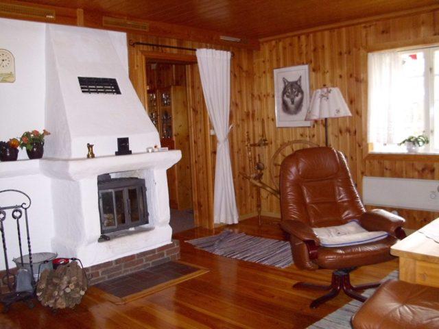 Wohn- /Essbereich – Ferienhaus Lyckan