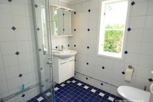 Badezimmer – Ferienhaus Rimforsa