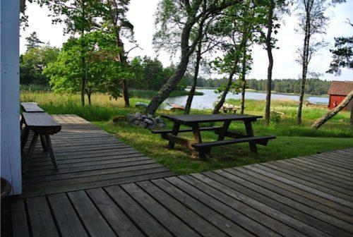 Seeblick – Ferienhaus Rockneby