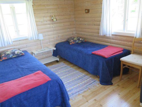 Schlafzimmer – Ferienhaus Svanefjorden