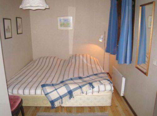 Schlafzimmer – Ferienhaus Udden