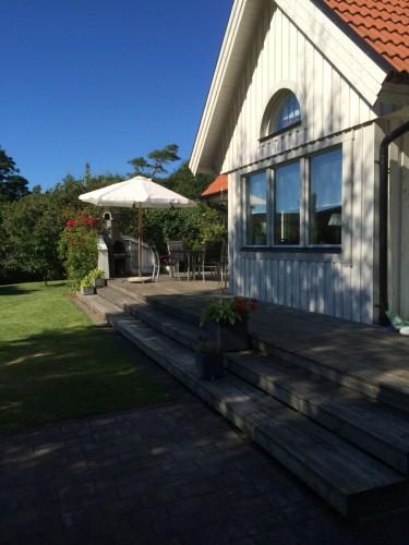 Außenansicht – Ferienhaus Ugglarp