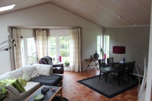Wohnbereich – Ferienhaus Värmdö