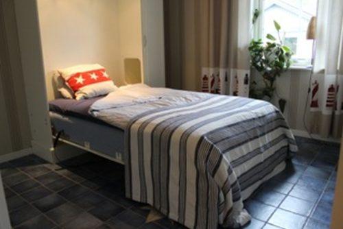 Schlafzimmer – Ferienhaus Värmdö