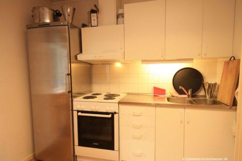 Wohn- /Essbereich mit Küche - Gruppenhaus Blekinge