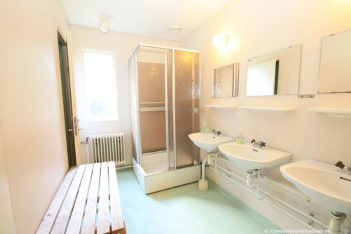 Badezimmer - Gruppenhaus Blekinge