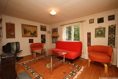 Wohnbereich - Ferienhaus Nyqvist