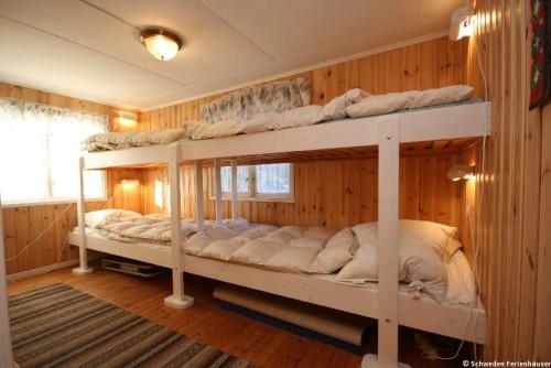 Schlafzimmer - Ferienhaus Nyqvist