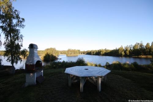 Grillplatz am See - Ferienhaus Nyqvist