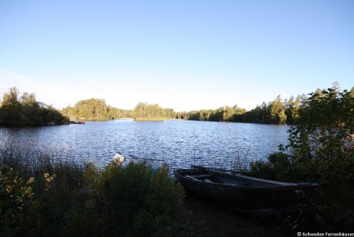Ruderboot am See - Ferienhaus Nyqvist