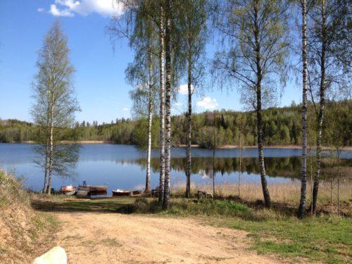 weitere Badestelle am See – Ferienhaus Rimforsa