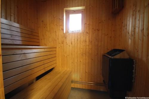 Sauna – Ferienhaus Rockneby