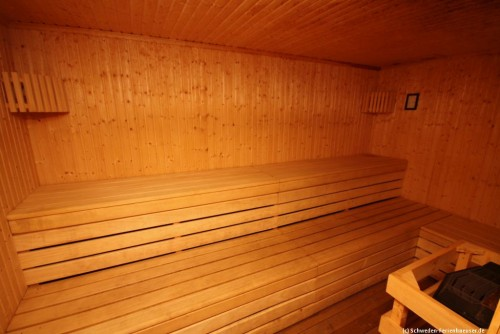Sauna im Nachbargebäude - Ferienhaus Rya