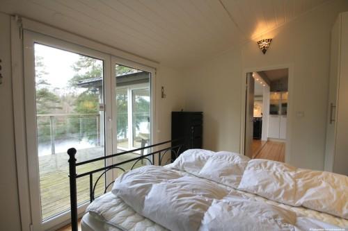 Schlafzimmer 1 – Ferienhaus Ubbaboda