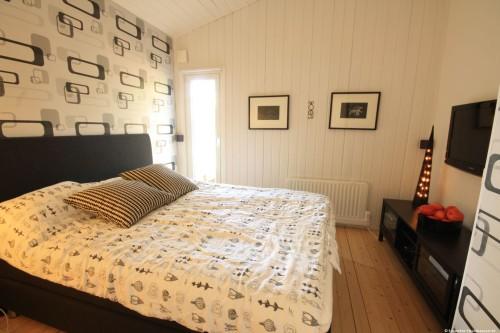 Schlafzimmer 2 – Ferienhaus Ubbaboda