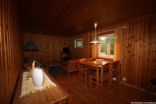 Wohn- /Essbereich – Ferienhaus Wallinder
