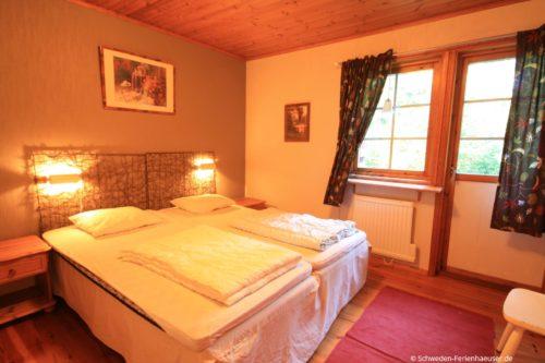 Schlafzimmer 1 – Ferienhaus Björk