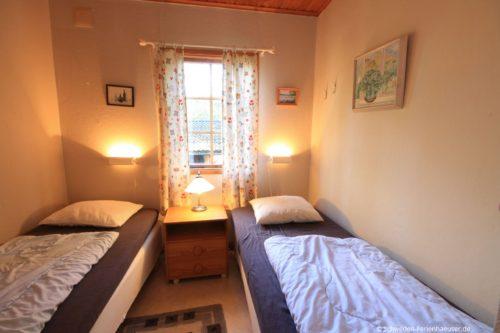 Schlafzimmer 3 – Ferienhaus Björk