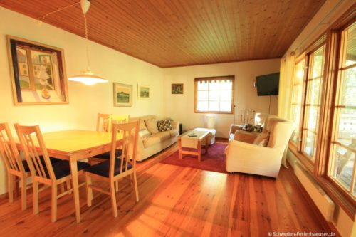 Wohnbereich – Ferienhaus Björk