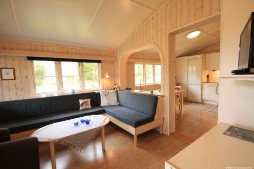 Wohnbereich – Ferienhaus Har