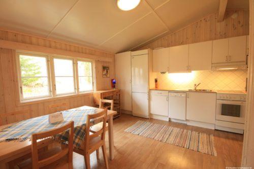 Küche mit Essbereich – Ferienhaus Har