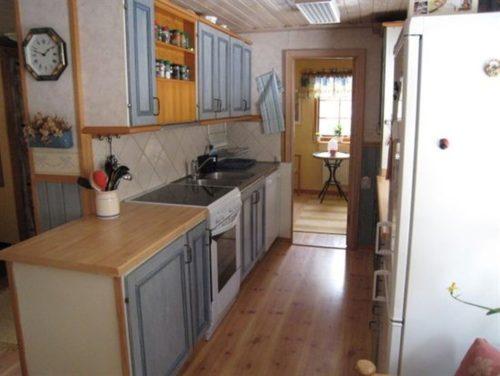Küche – Ferienhaus Hrysås