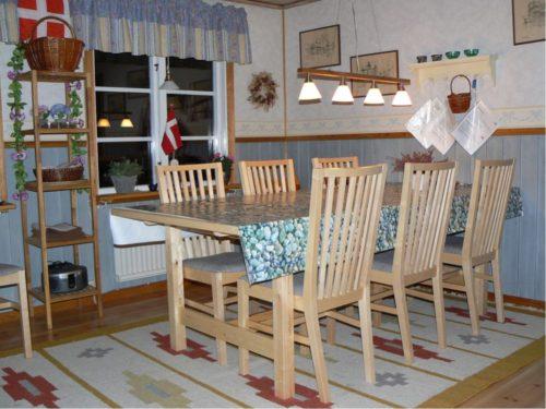 Essbereich – Ferienhaus Hrysås