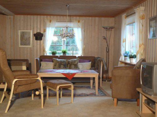 Wohnbereich – Ferienhaus Hrysås
