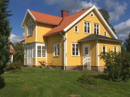 Außenansicht - Ferienhaus Mats