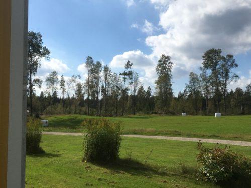 Blick vom Ferienhaus - Ferienhaus Mats