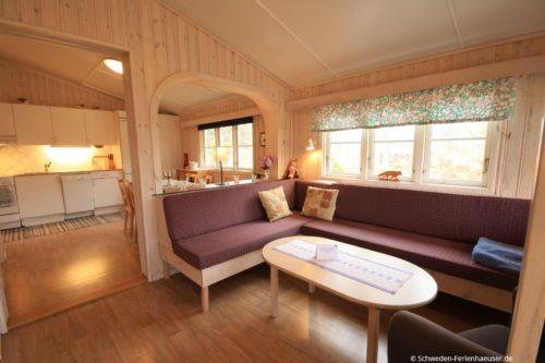 Wohn- /Essbereich mit offener Küche – Ferienhaus Räv