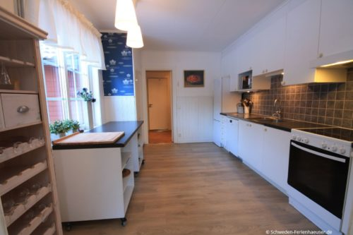 Küche (Erdgeschoss) – Ferienhaus Bro