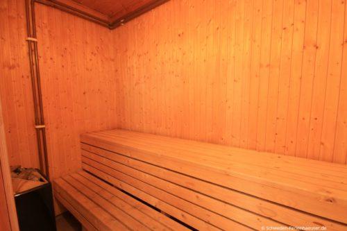 Sauna (Erdgeschoss) – Ferienhaus Haga