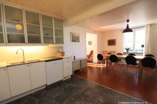 Küche (Erdgeschoss) – Ferienhaus Haga